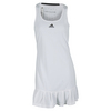 ADIDAS Women`s Climachill Tennis Dress White