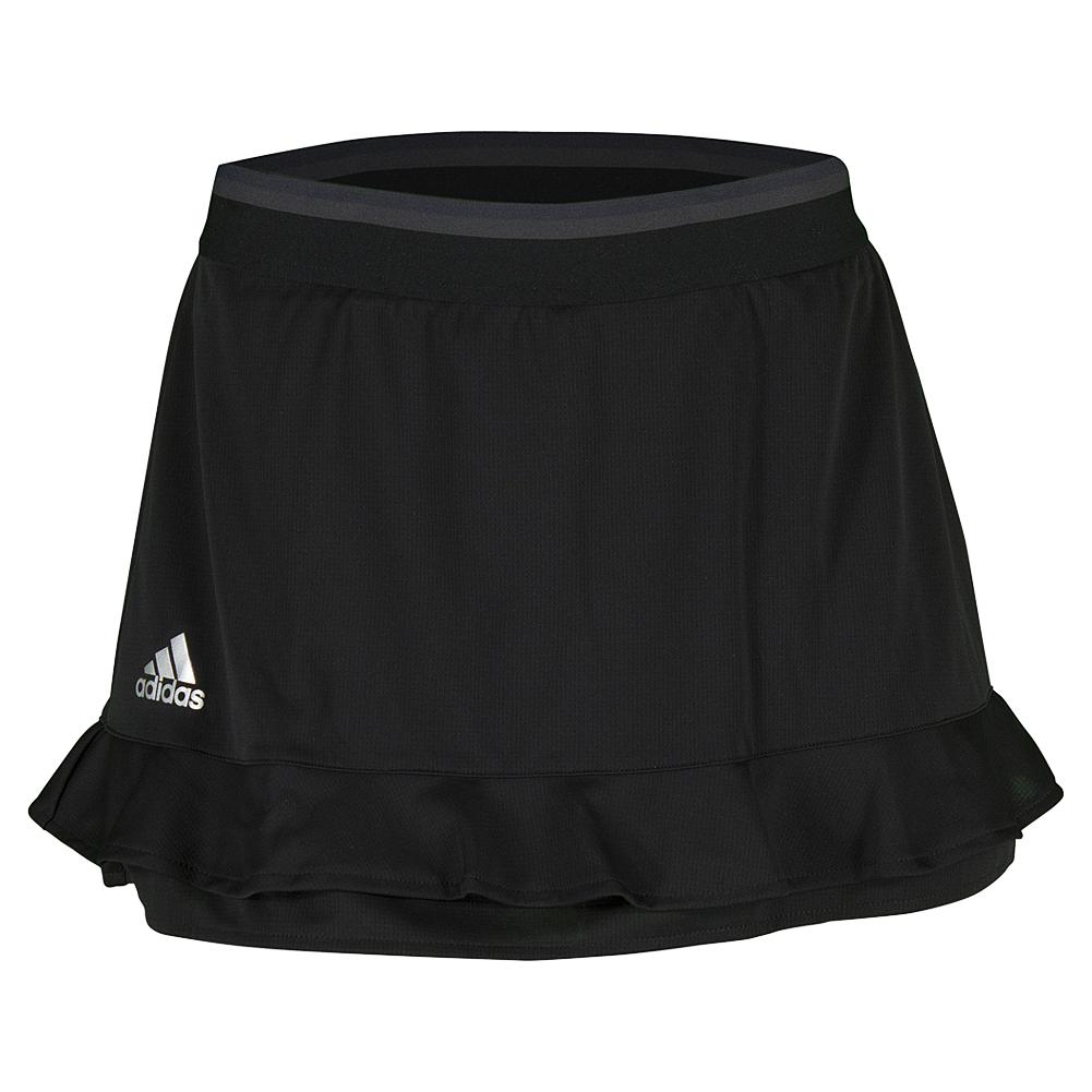 Women's Climachill 12 Inch Tennis Skort Black