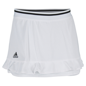 Women`s Climachill 14 Inch Tennis Skort White