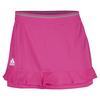 ADIDAS Women`s Climachill 12 Inch Tennis Skort Shock Pink