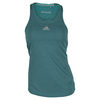 Women`s Climachill Tennis Tank Chill Shock Green by ADIDAS
