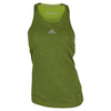 Women`s Climachill Tennis Tank Chill Semi Solar Slime by ADIDAS