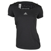 ADIDAS Women`s Climachill Tennis Tee Chill Black Mélange