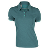 ADIDAS Women`s Climachill Tennis Polo Chill Shock Green