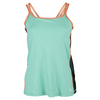 SOFIBELLA Women`s Essence Athletic Tennis Cami Seaglass