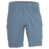 ASICS Men`s Club Woven 9 Inch Tennis Short Asphalt Blue