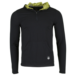 Men`s Kick It Tennis Hoodie Anthracite