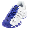 K-SWISS Juniors` BigShot Light 2.5 Tennis Shoes White and Electric Blue