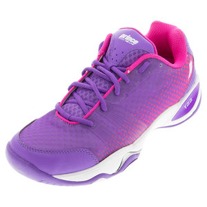 Women`s T22 Lite Hard Court Tennis Shoes Purple and Pink
