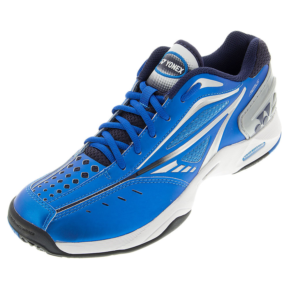 Tennis Express | YONEX Men`s Power Cushion Aerus Tennis Shoes Blue