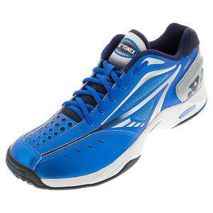 YONEX MENS PWR CUSHION AERUS TNS SHOES BLUE