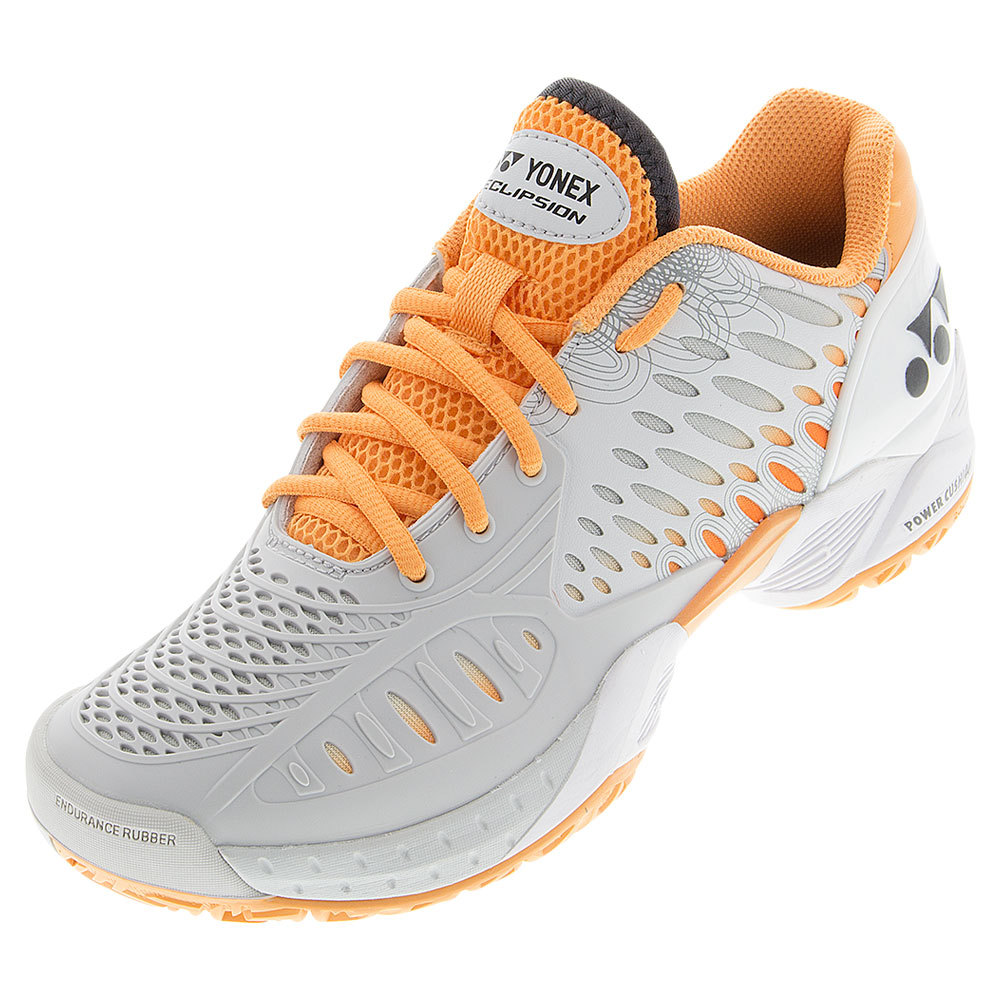 YONEX Women`s Power Cushion Eclipsion Tennis Shoes Gray