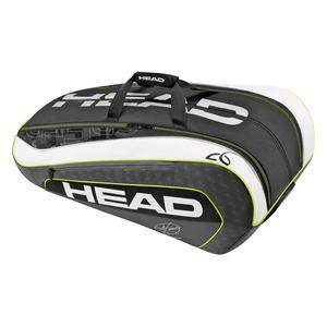 HEAD DJOKOVIC 12R MONSTERCOMBI TNS BAG BK/WH