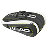 HEAD Djokovic 12R Monstercombi Tennis Bag Black and White