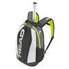 HEAD Djokovic Tennis Backpack Black and White