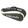 HEAD Djokovic 9R Supercombi Tennis Bag Black and White