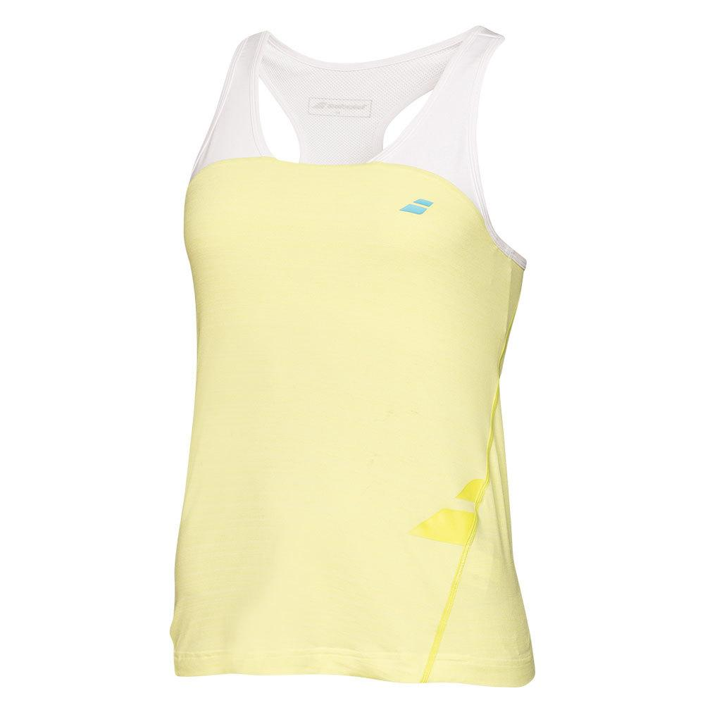 Girls ` Performance Racerback Tennis Tank