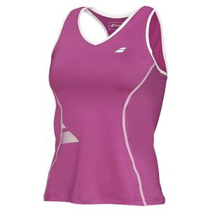 Girls` Core Tennis Tank Crop