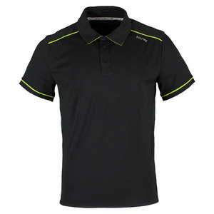 Men`s Performance Tennis Polo Anthracite