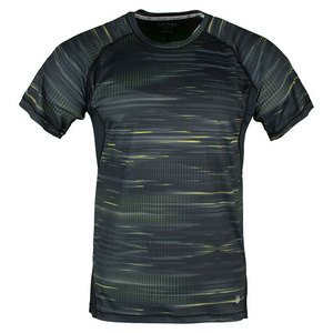 Men`s Full Speed Hex Camo Tennis Top