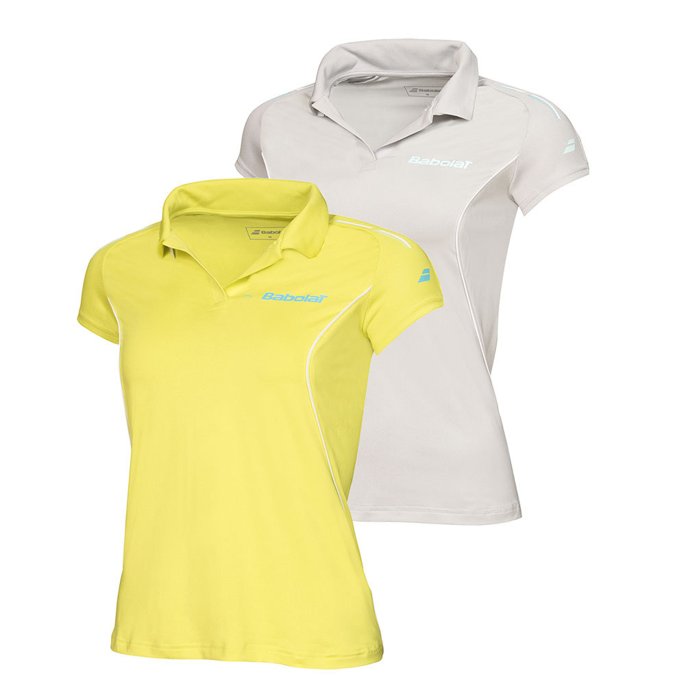 Girls ` Match Core Tennis Polo