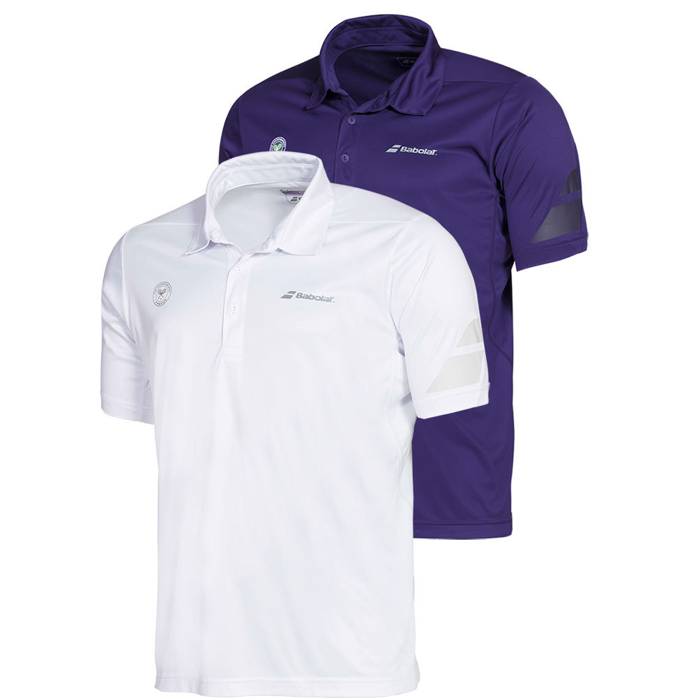 Men's Wimbledon Perf Tennis Polo