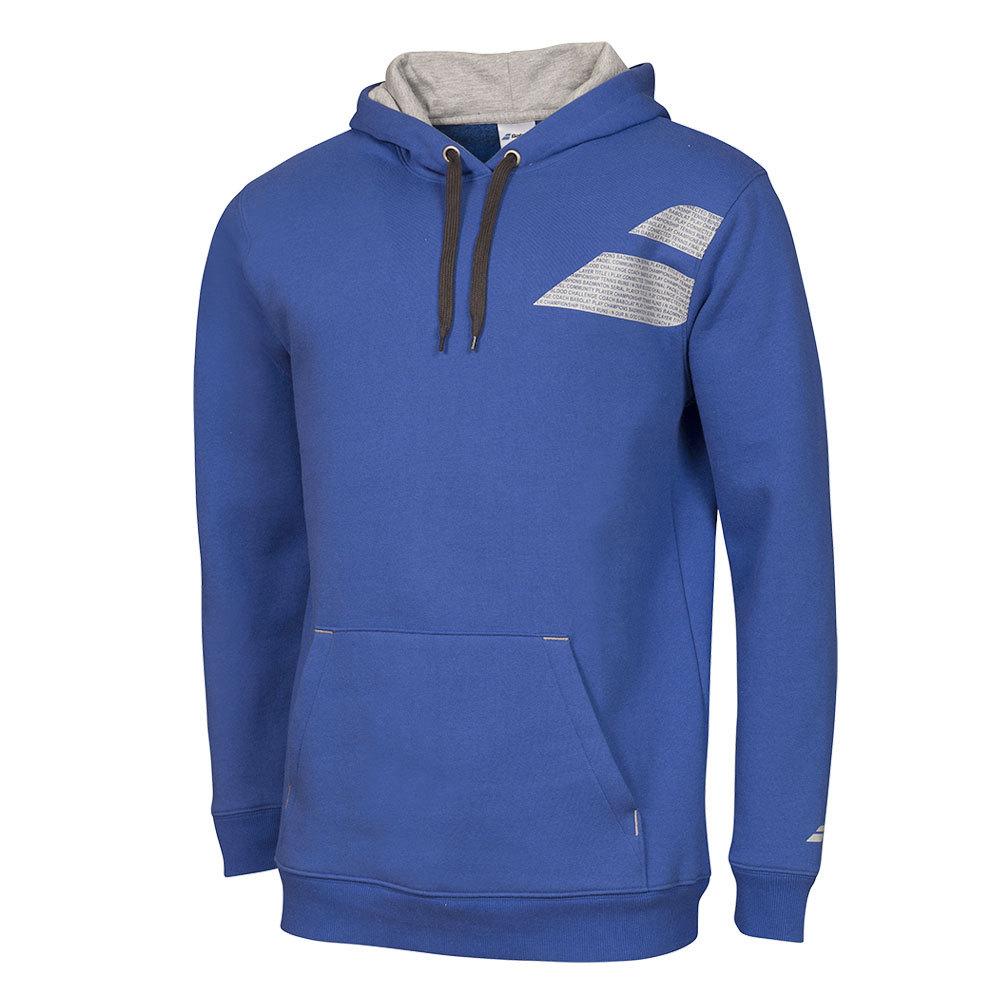 Boys ` Core Tennis Hood Sweat Dark Blue