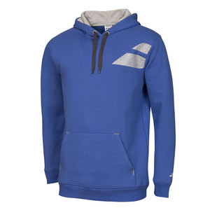 Boys` Core Tennis Hood Sweat Dark Blue