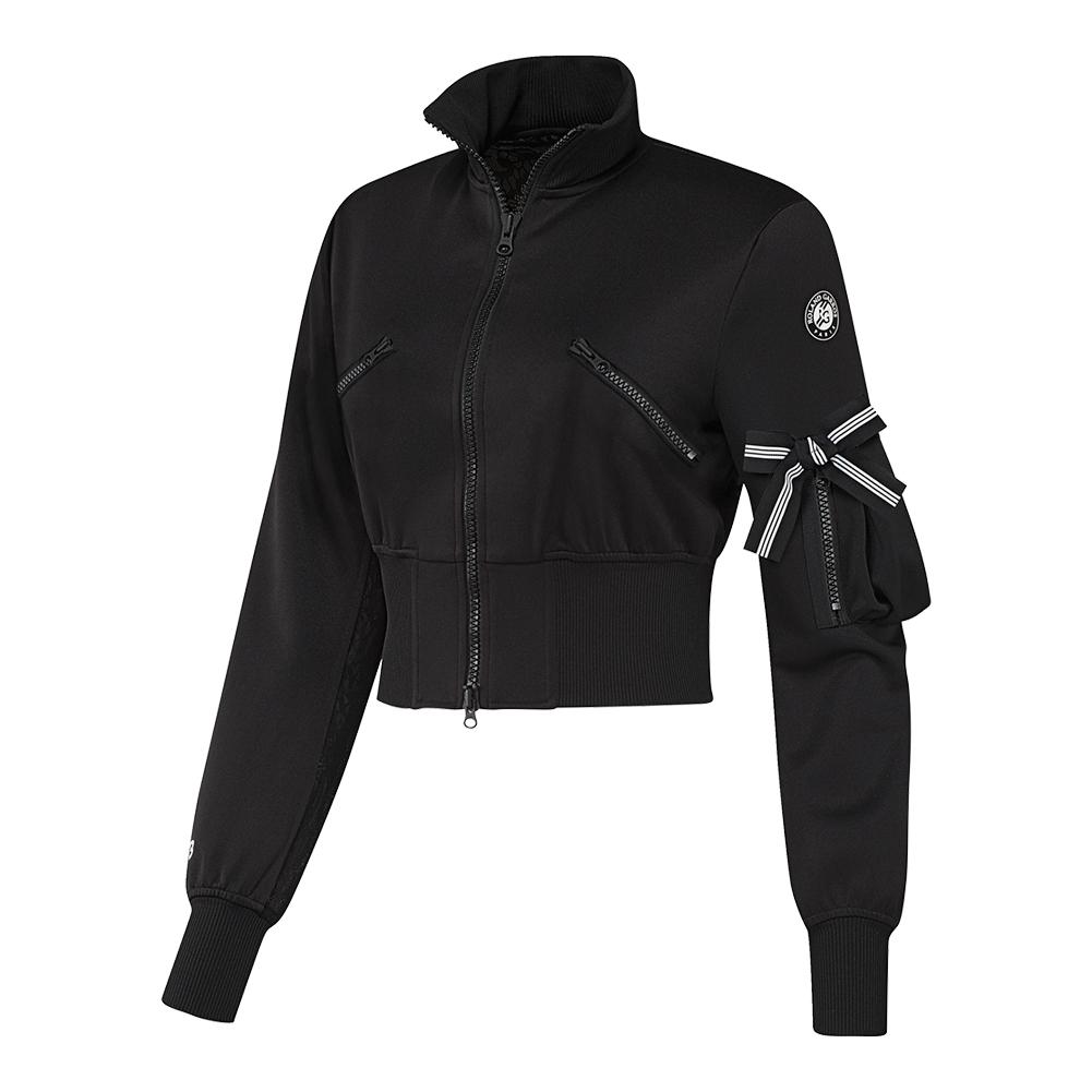 Women's Roland Garros Y- 3 Tennis Jacket Black