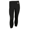ADIDAS Women`s Roland Garros Y-3 Tennis Leggings Black