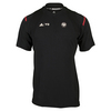 ADIDAS Men`s Roland Garros Y-3 Tennis Tee Black and Red