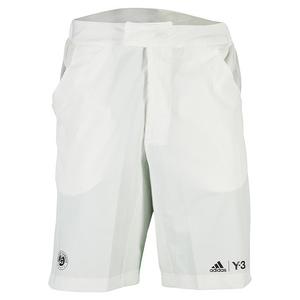 adidas MENS RG Y-3 PLAYER TENNIS SHORTS WHT