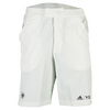 ADIDAS Men`s Roland Garros Y-3 Player Tennis Shorts White