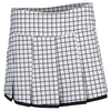 BOLLE Women`s Twist of Lime Tennis Skort White and Black