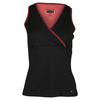 Women`s Moulin Rouge Tennis Tank Black by BOLLE