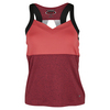 Women`s Moulin Rouge Racerback Tennis Tank Rouge Heather by BOLLE