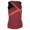 Women`s Moulin Rouge Tennis Tank Rouge Heather by BOLLE