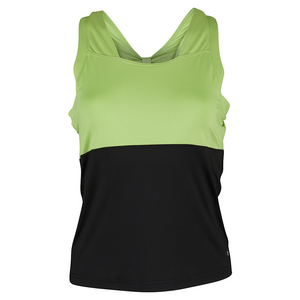 BOLLE WOMENS TWIST OF LIME TNS TANK BLK/LIME