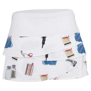 Women`s Scallop Tennis Skirt Glamour Girl
