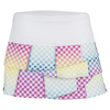 LUCKY IN LOVE Women`s Scallop Tennis Skirt