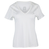 ELEVEN Women`s Studio V-Neck Tennis Top White