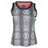 Women`s Serpentine Tennis Tank Print by BOLLE
