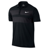 NIKE Men`s Advantage Dri-Fit Cool Tennis Polo Black