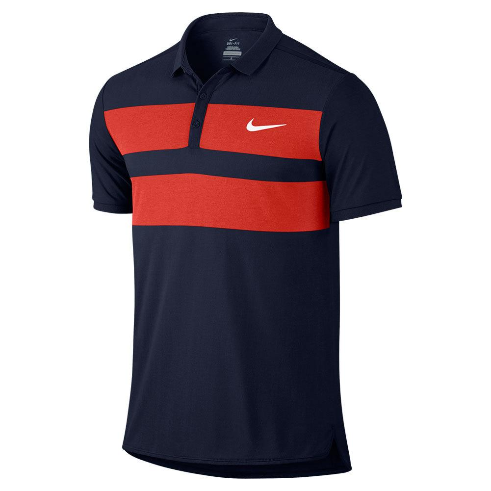 Men's Advantage Dri- Fit Cool Tennis Polo
