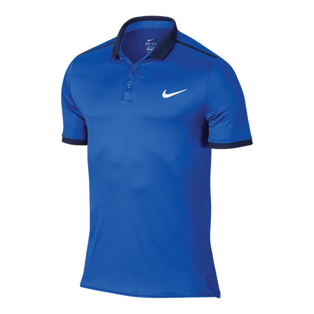 Men's Advantage Solid Tennis Polo