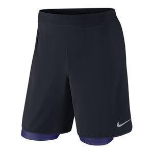 NIKE MENS GLADIATOR 2 IN 1 TENNIS SHORT