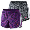 NIKE Girls` Tempo Allover Print Short