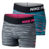 Girls` Pro Cool Allover Print Short by NIKE