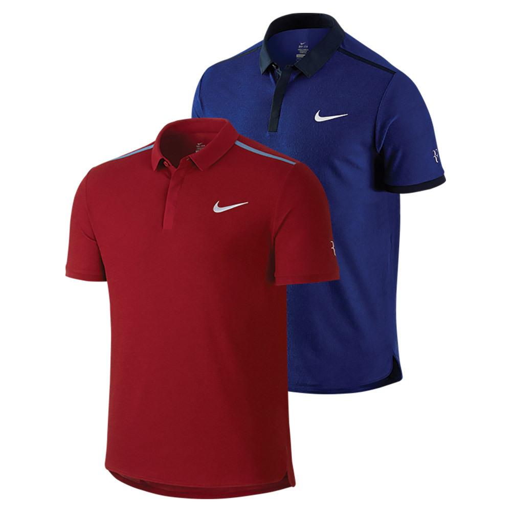 Men's Roger Federer Advantage Premier Tennis Polo