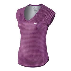 Women`s Printed Pure Tennis Top